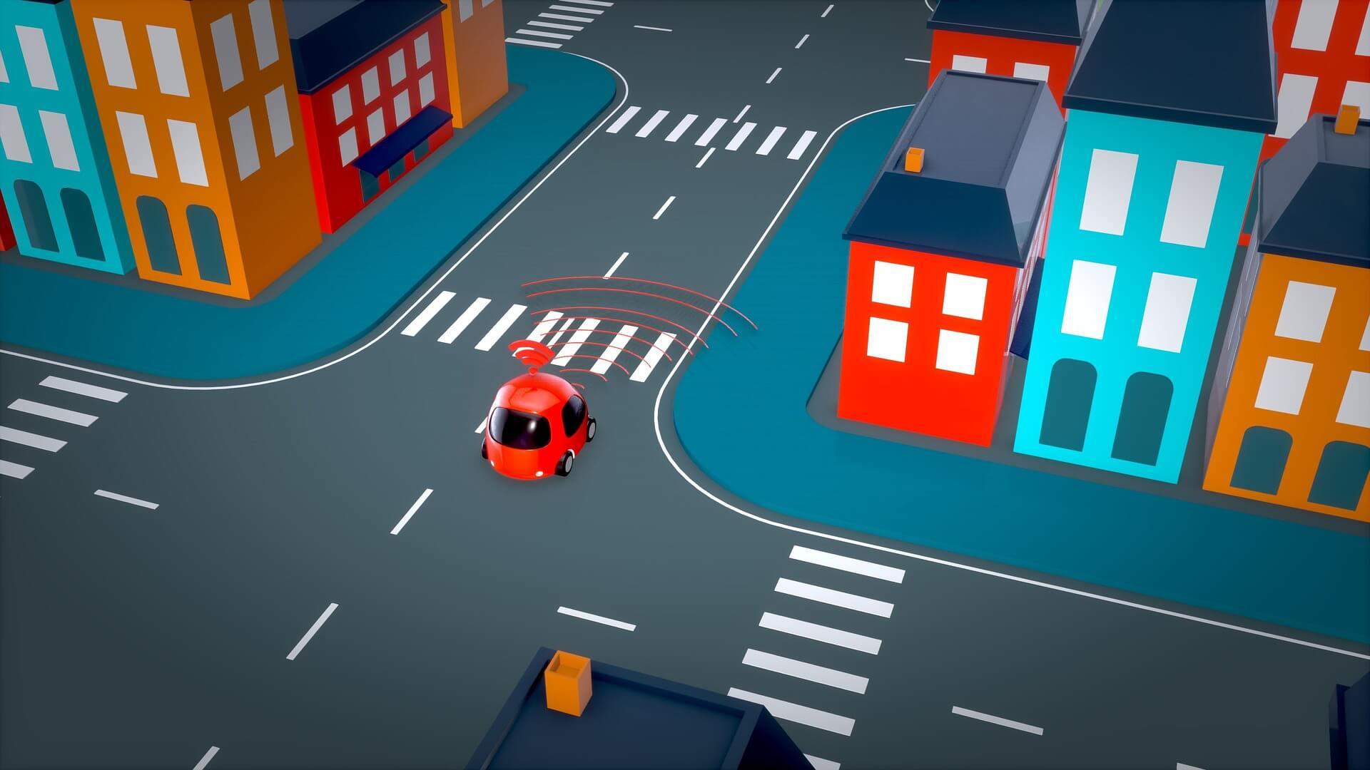 self driving car statistics